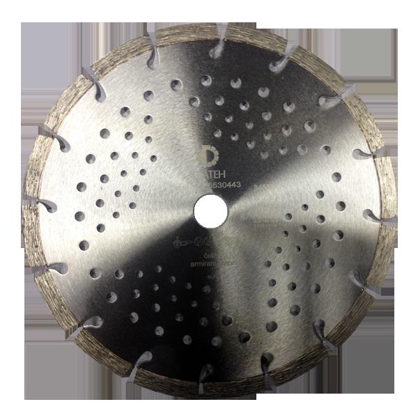 Dijamantni disk za armirani beton, željezo i gus